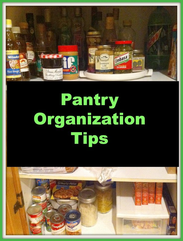 Kitchen pantry organization photo - 2