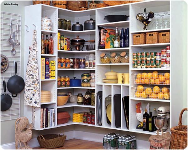 Kitchen pantry shelves photo - 3