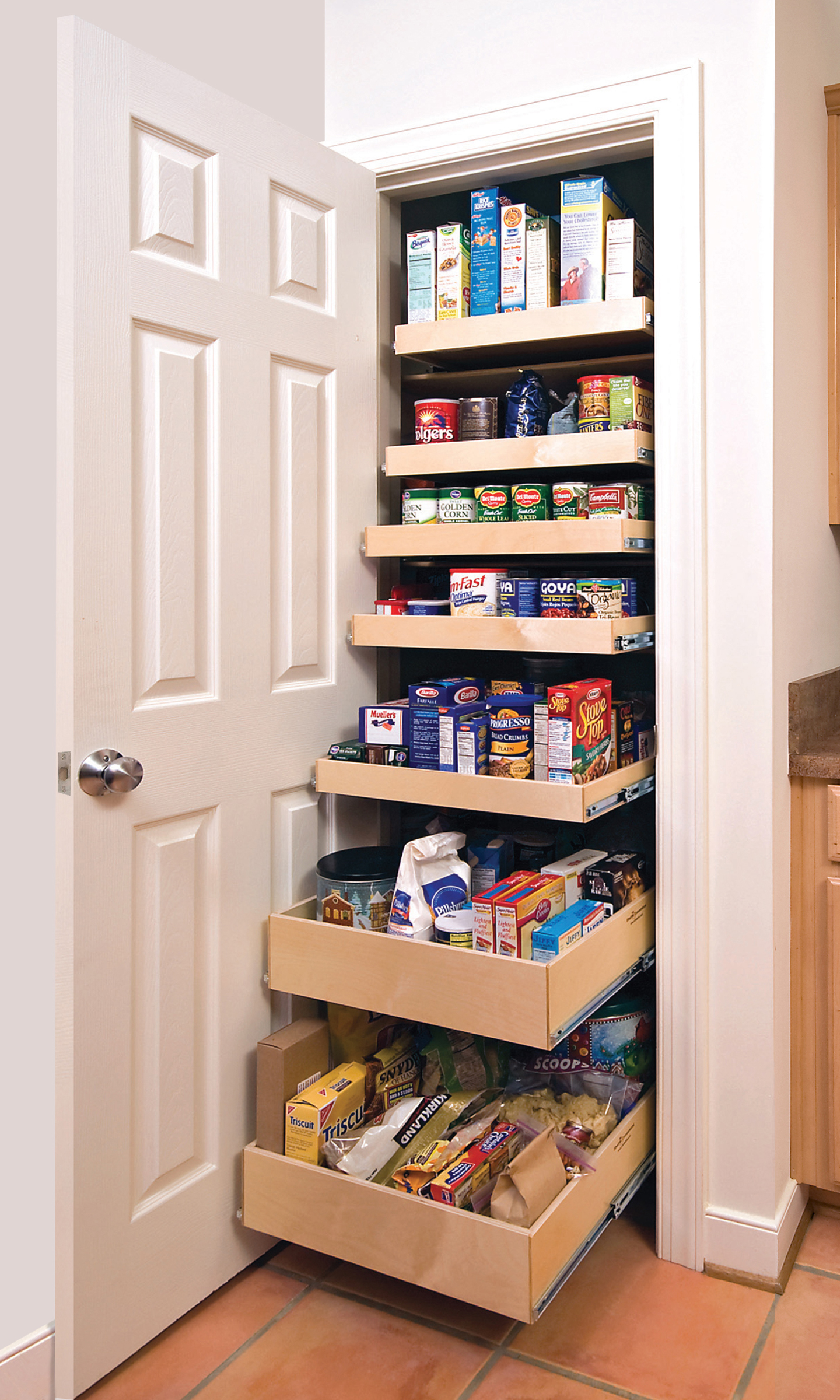 Kitchen pantry shelving systems photo - 2