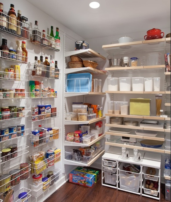Kitchen pantry shelving units photo - 1