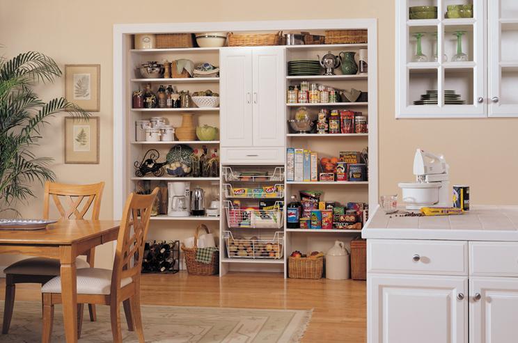 Kitchen pantry shelving units photo - 3