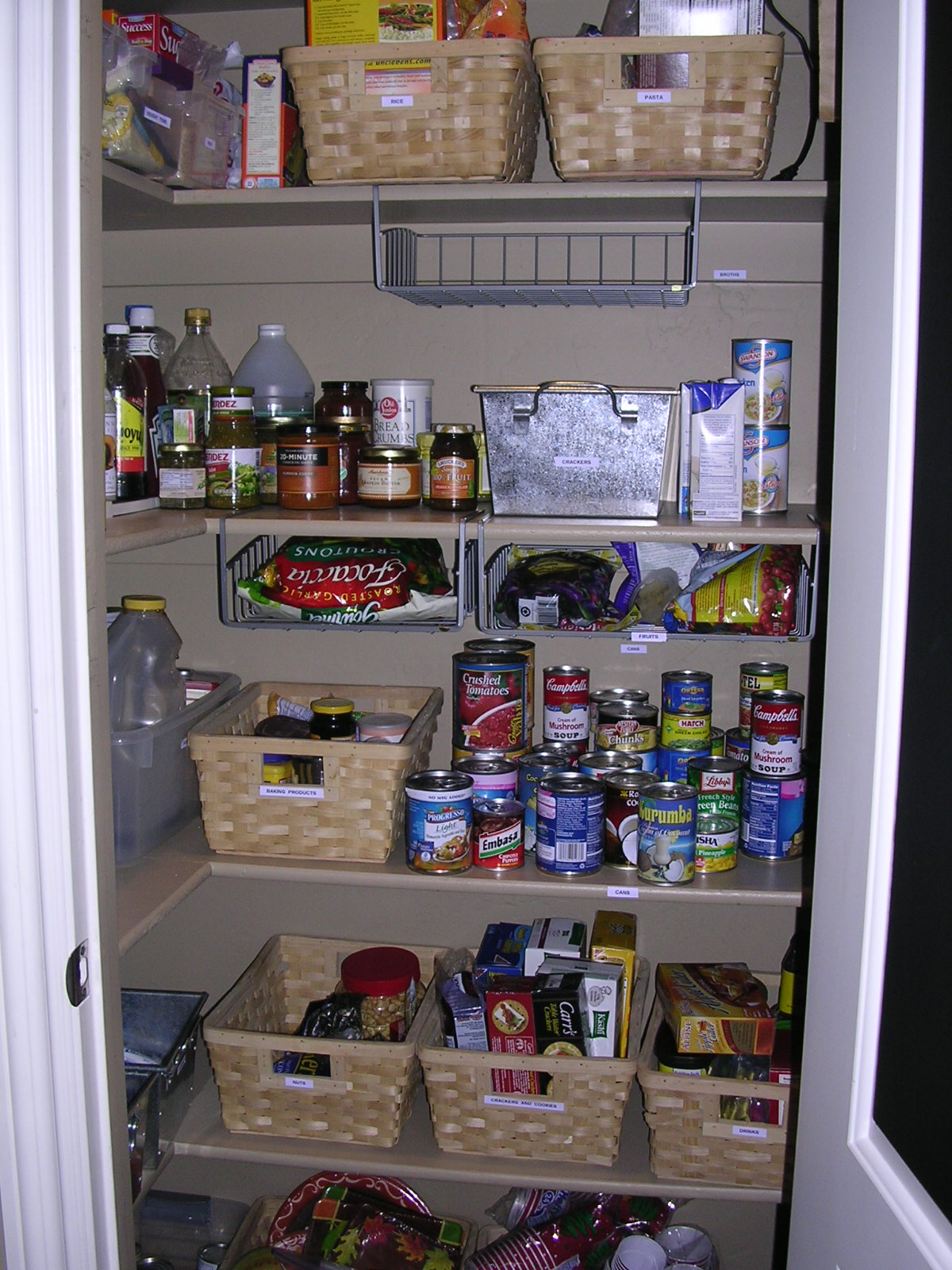Kitchen pantry storage cabinet photo - 3