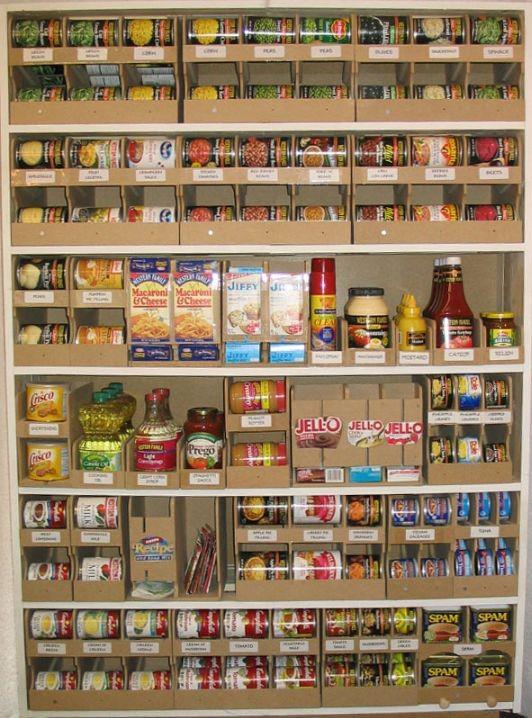 Kitchen pantry storage systems photo - 3