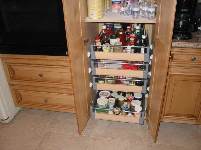 Kitchen pantry with drawers photo - 1