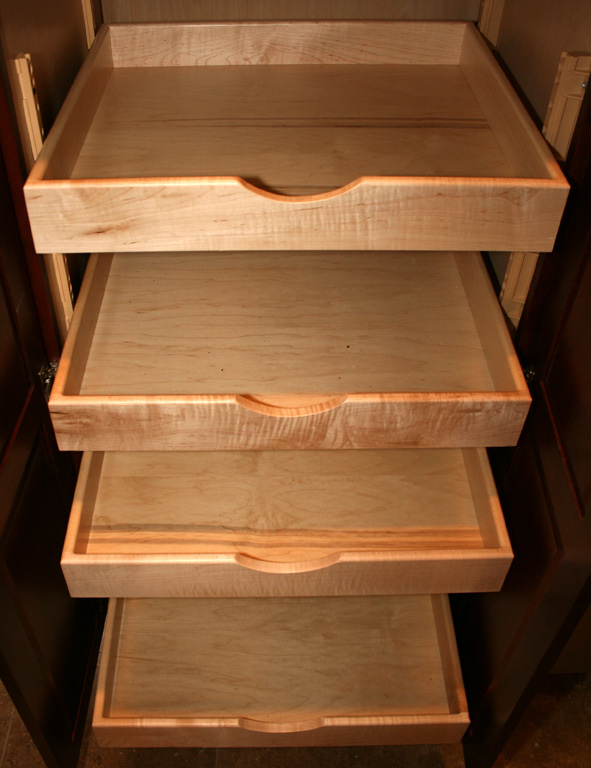 Kitchen pantry with drawers photo - 2