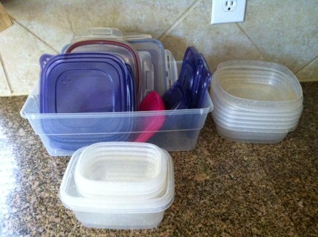 Kitchen plastic storage containers photo - 3