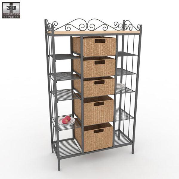 Kitchen rack storage photo - 3