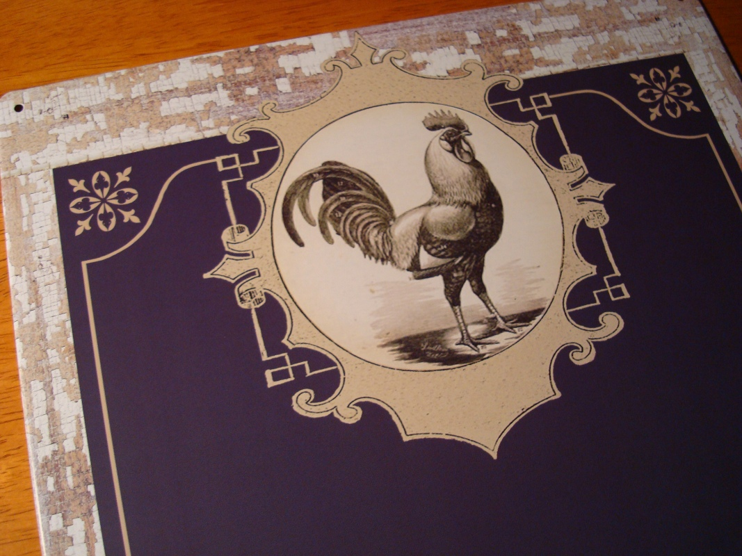 Kitchen rooster decor photo - 3