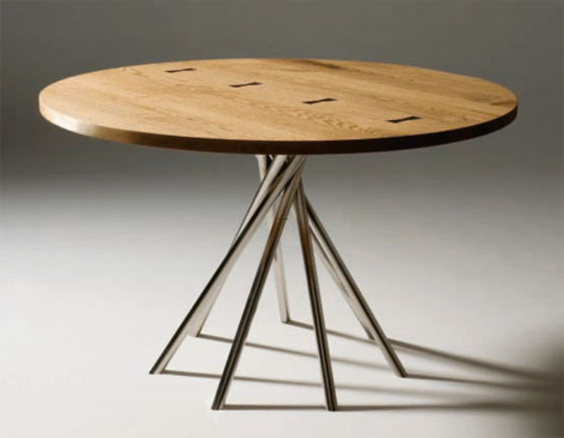 Kitchen round tables photo - 2