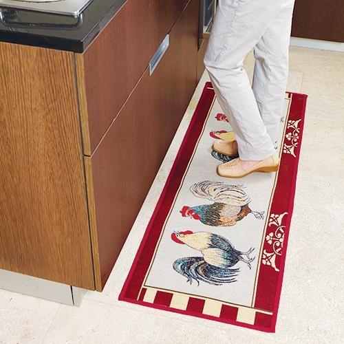 Kitchen runner rug photo - 3