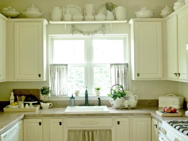 Kitchen sheer curtains photo - 2