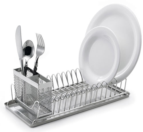 Kitchen sink dish rack photo - 1