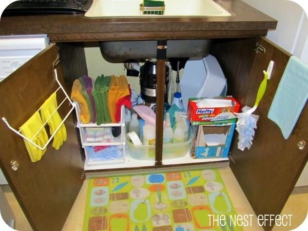 Kitchen sink organizer photo - 2