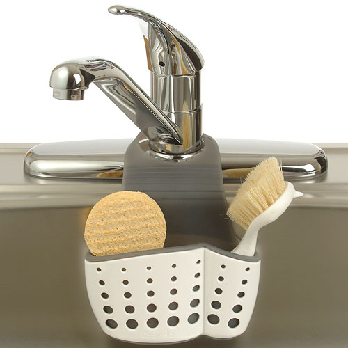 Kitchen sink sponge holder photo - 2