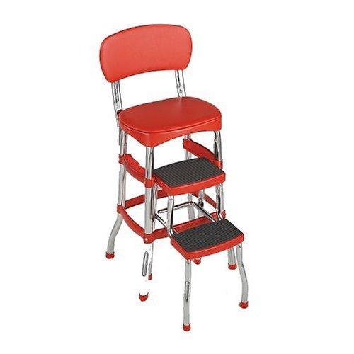 Kitchen step stool seat photo - 1