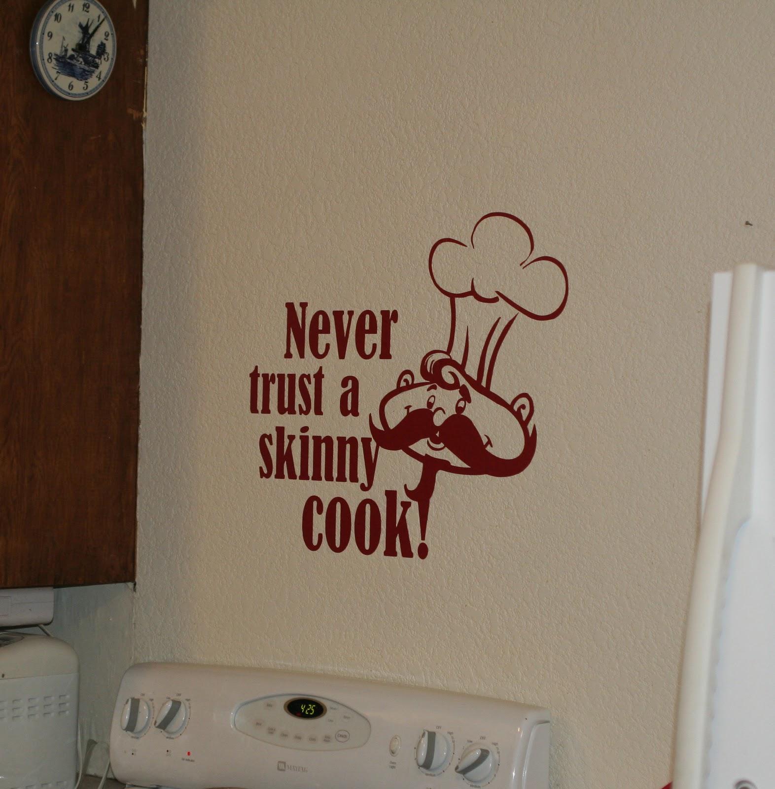 Kitchen stickers wall decor photo - 3