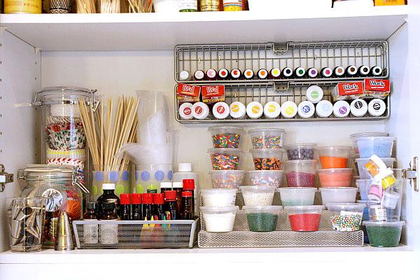 Kitchen storage and organization photo - 2