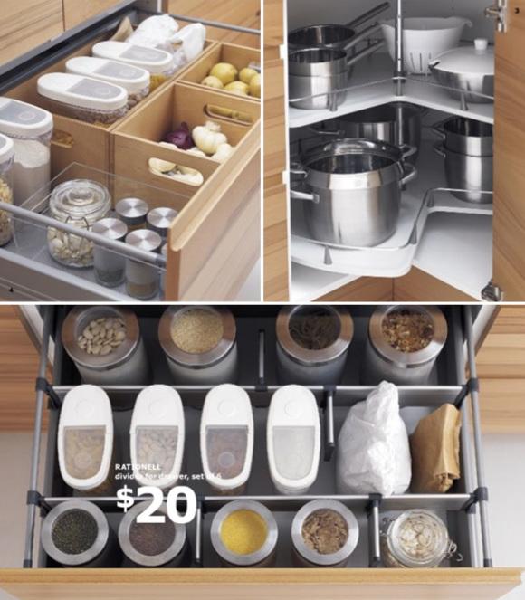 Kitchen storage and organization photo - 3