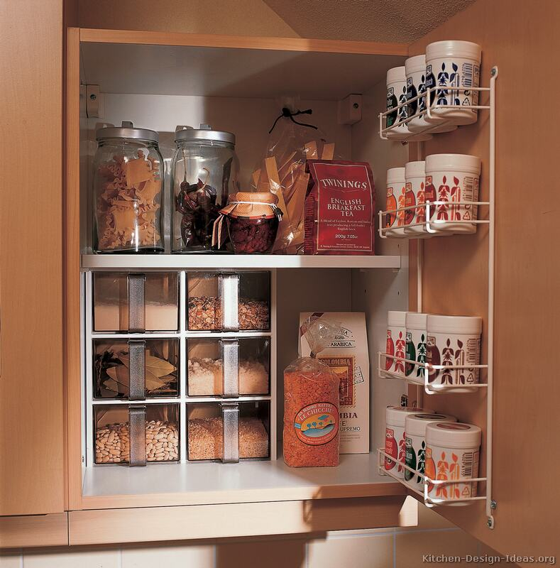 Kitchen storage cabinets photo - 1