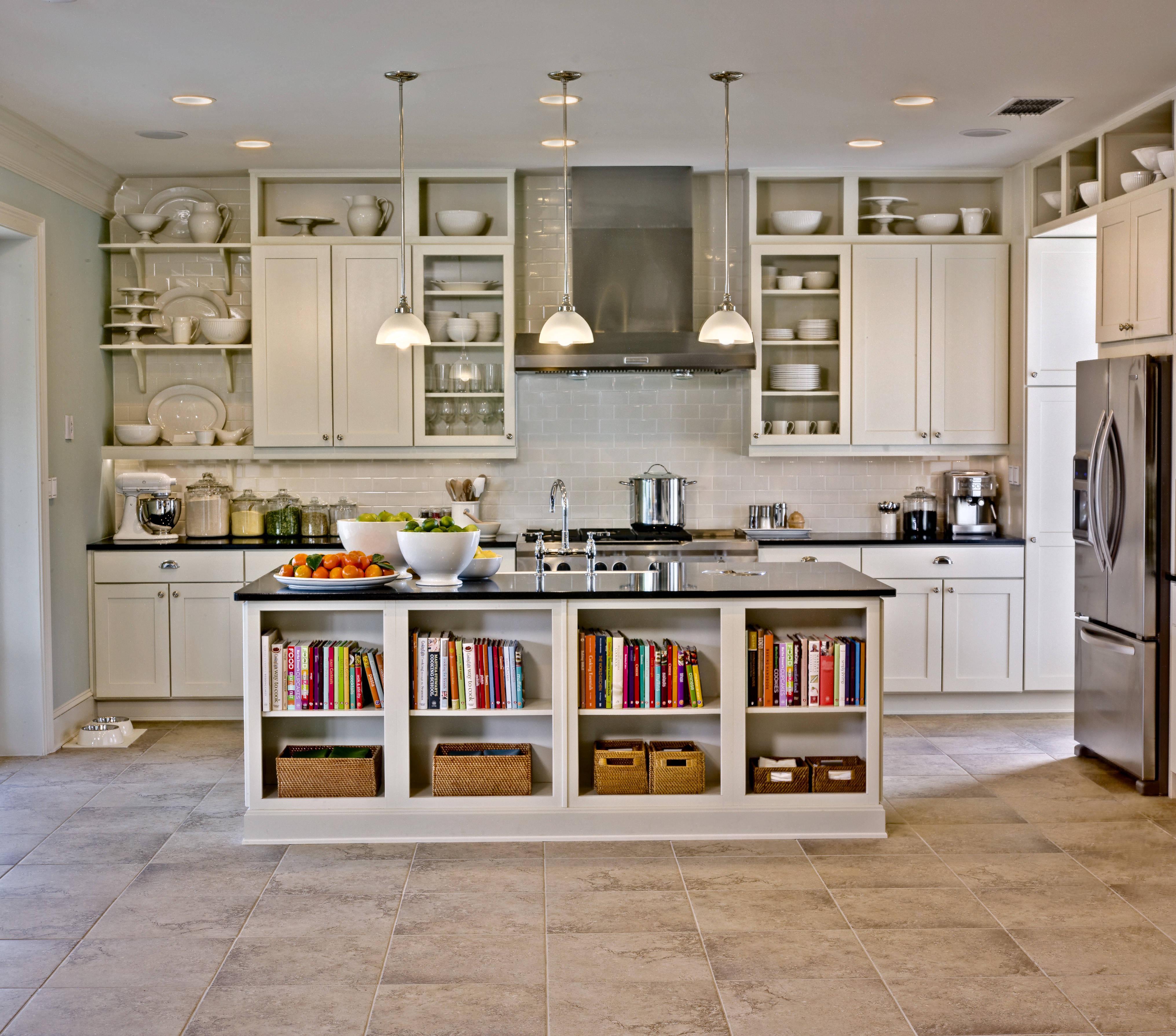 Kitchen storage cabinets free standing photo - 1