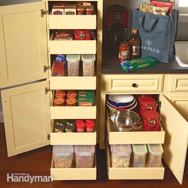 Kitchen storage for pots and pans photo - 3
