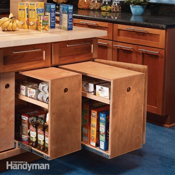 Kitchen storage furniture photo - 1