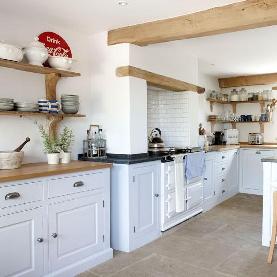 Kitchen storage shelves photo - 1