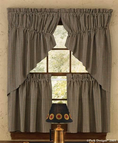 Kitchen swag curtains photo - 3