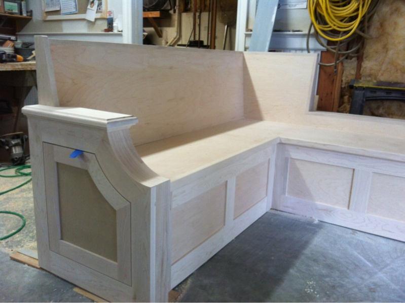Kitchen table bench seating photo - 1
