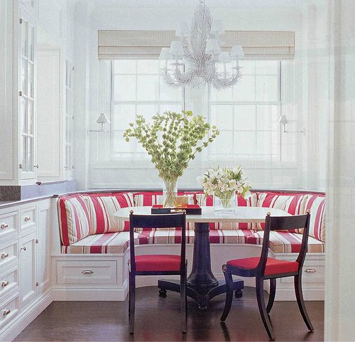 Kitchen table bench seating photo - 3
