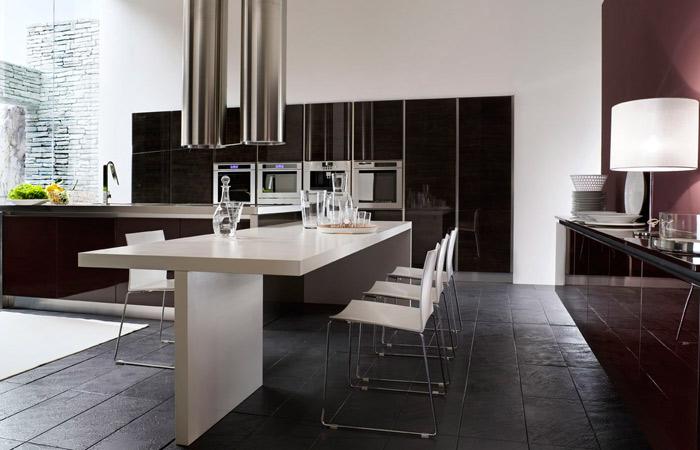 Kitchen table black photo - 3