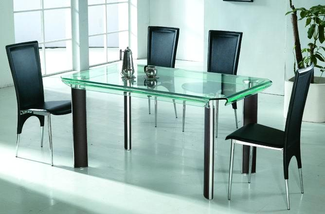 Kitchen table glass top photo - 1