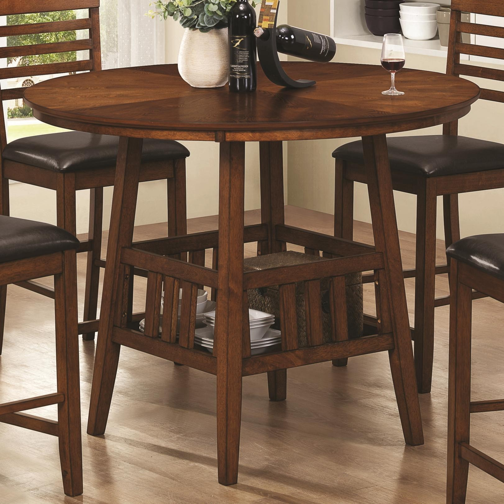 Tall Kitchen Tables Gorgeous Brown Tall Kitchen Table With Wine