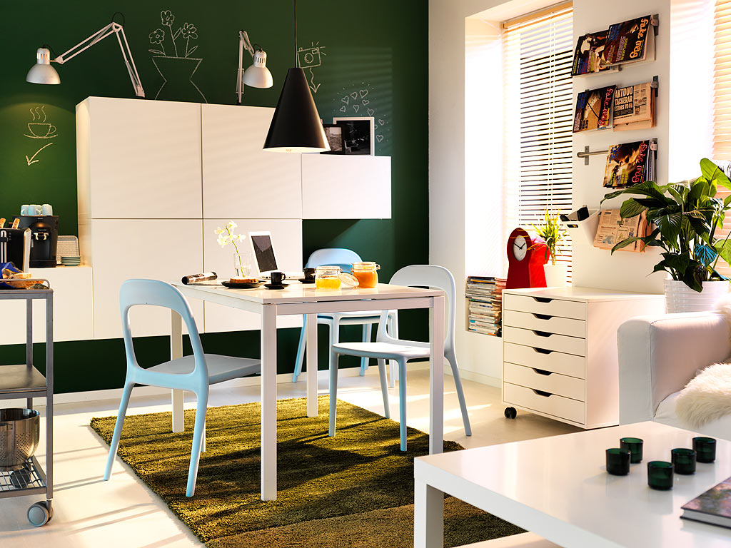 Kitchen table ideas for small spaces photo - 3