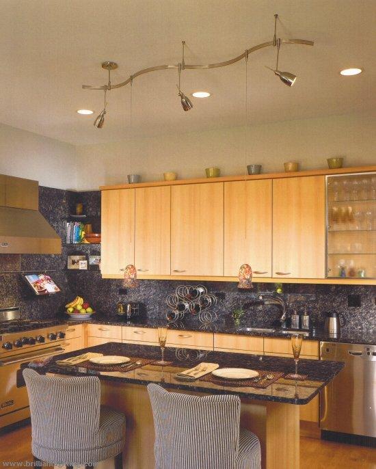 Kitchen table lighting fixtures photo - 1