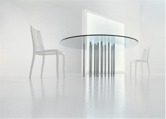 Kitchen table round photo - 3