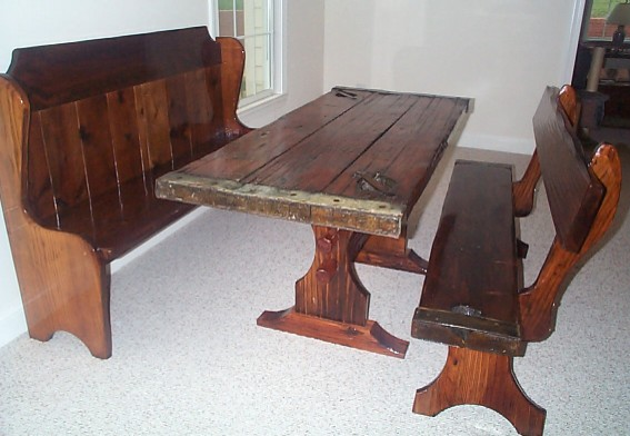 10 Photos To Kitchen Table Sets With Benches
