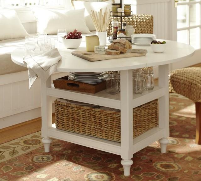 Kitchen table white photo - 3