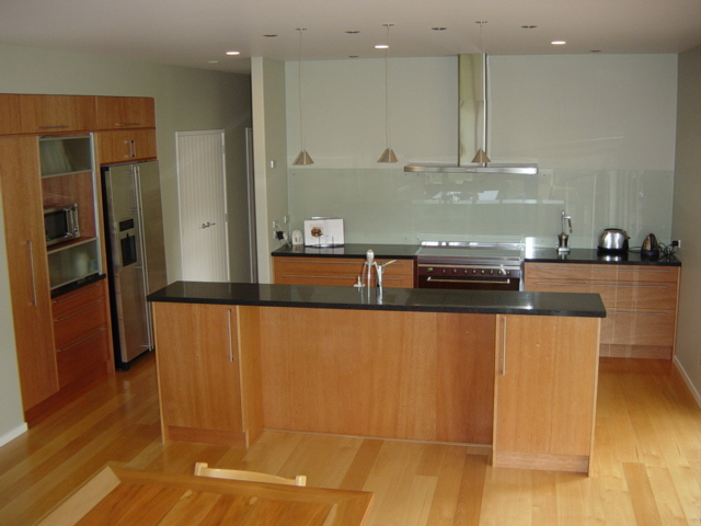 Kitchen table with benches photo - 3