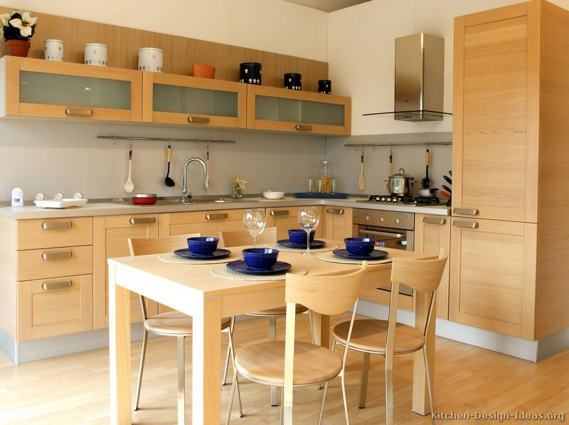 Kitchen tables and chairs wood photo - 1