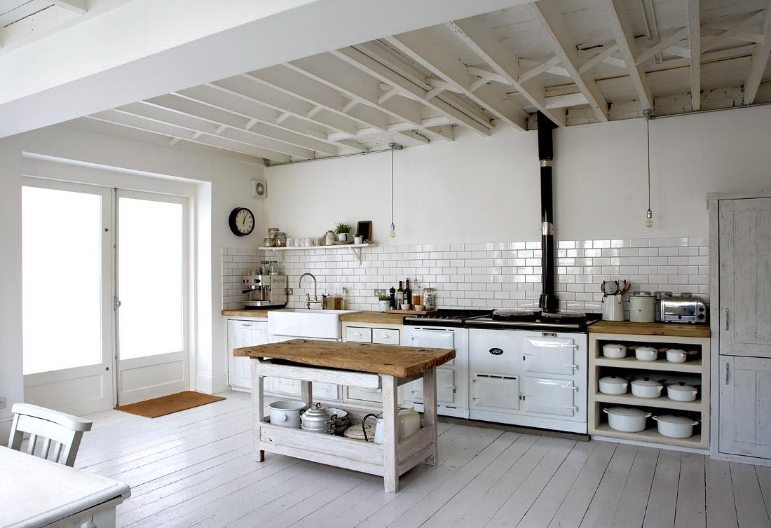 Kitchen tables white photo - 2