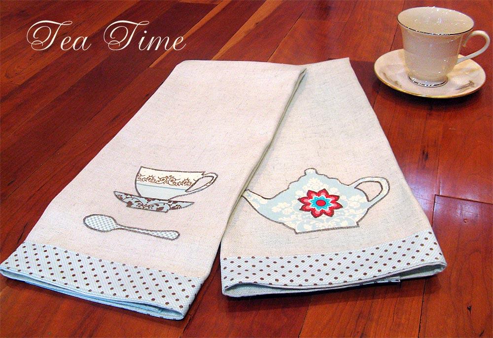 Kitchen tea towels photo - 1