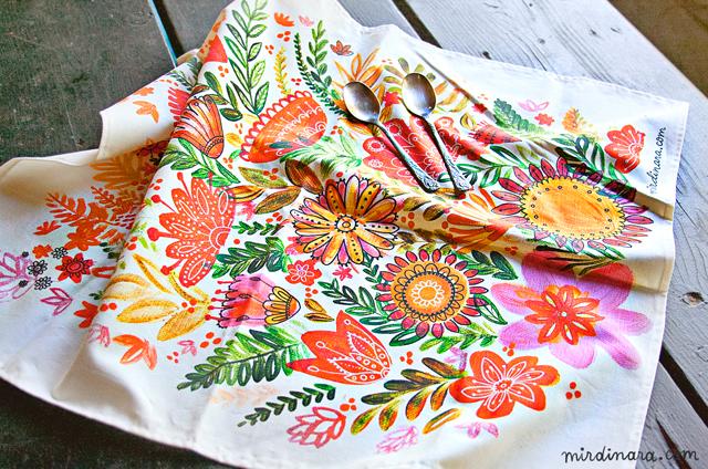 Kitchen tea towels photo - 2