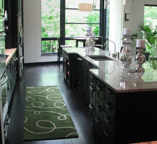 Kitchen throw rugs photo - 2