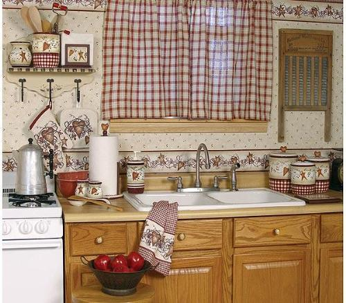 Kitchen tier curtains photo - 1