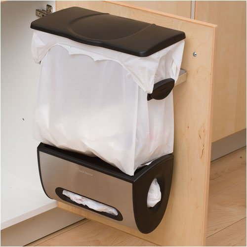 Kitchen trash can storage cabinet photo - 3