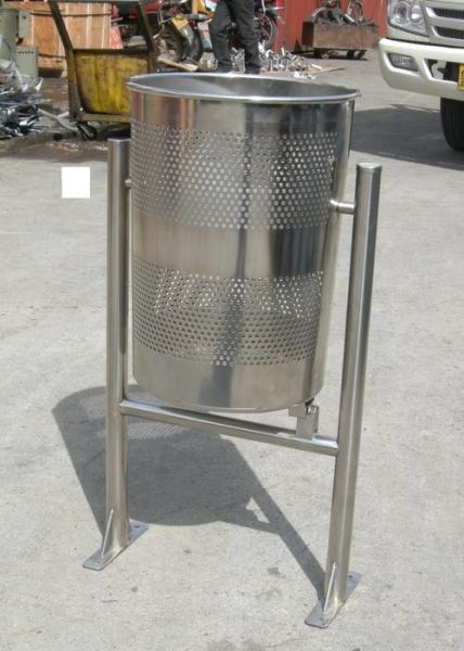 Kitchen trash cans stainless steel photo - 2