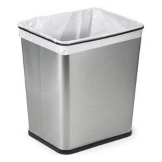 Kitchen trash cans stainless steel photo - 3