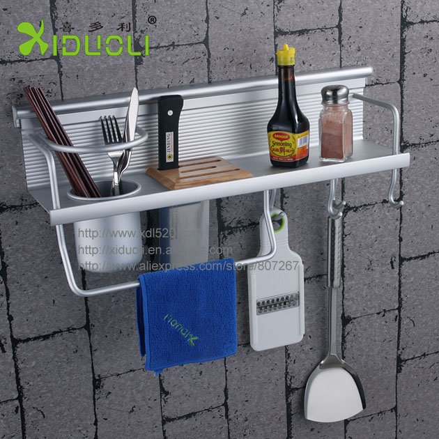 Kitchen utensil wall rack photo - 3