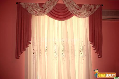 Kitchen valance curtains photo - 3